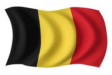 Belgium flag - Belgian flag
