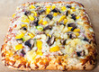 Delicious Pizza With Assorted Toppings