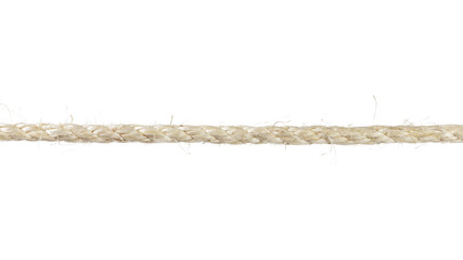 single sisal rope