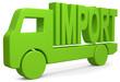 Lastwagen Import