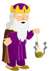 Roi Mage détouré