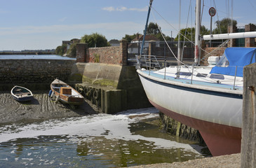 Emsworth in Hampshire. England