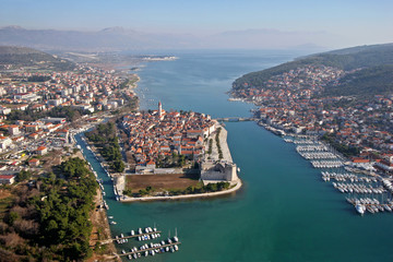 Trogir, historic town on the Adriatic coast in Croatia