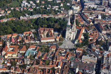 Zagreb Croatian capital, city centre