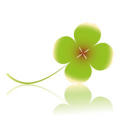 klee, kleeblatt,licht,grün,glück,glücksbringer,glücksklee,blatt