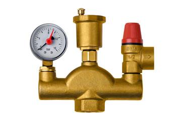 Crane safety valve boiler pressure