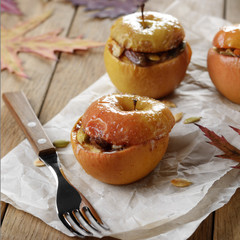 Homemade oven baked apples