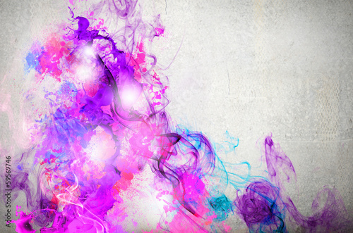 Rock passionate color background