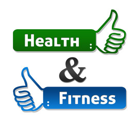 Health and Fitness Thumb Up