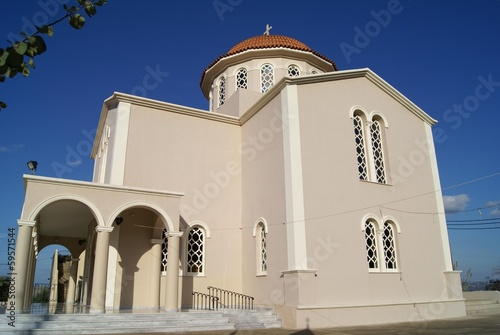 Greek Orthodox church, Crete, Greece