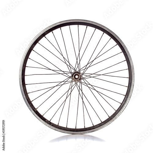 canvas print picture Bicycle wheel