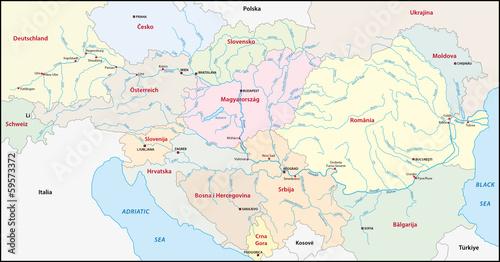 Donau Karte