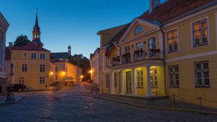 German Embassy in Toompea, Tallinn in Estonia