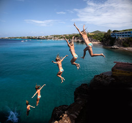 Cliff jumper
