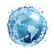 Leinwanddruck Bild - water recycle in world Usa