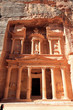 Treasuary Building in Petra, Jordan