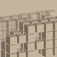 Cubes Background Template
