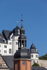 Stolberg im Harz Blick zum Schloss