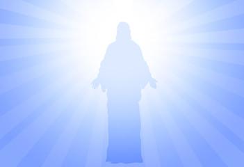 God Jesus-vector