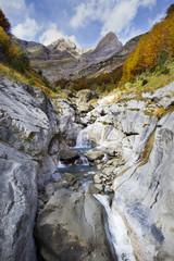 valley of Pineta in Ordesa National Park