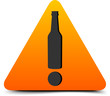 Alcohol Hazard Sign