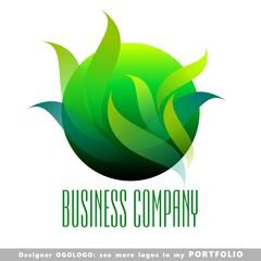 ball, planet, globe, abstract business logo emblem vector