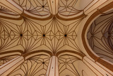 Warsaw in Poland, the ceiling of St John Cathedral