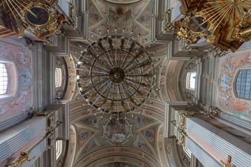 St Anne's Church in Warsaw Poland