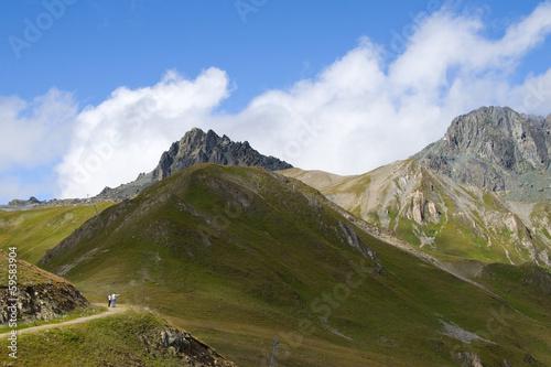 Flimspitze und Bürkelkopf - Samnaungruppe Alpen