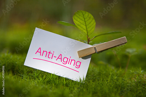 canvas print picture Anti-Aging