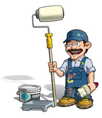 Handyman - Painter Blue Uniform