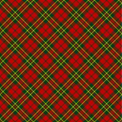 X-mas seamless tartan pattern
