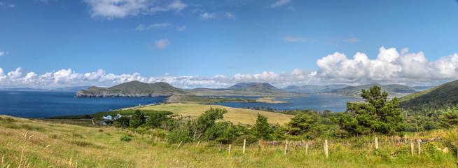 Landschafts-Panorama auf Valentia Island