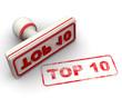 Top 10. Печать и оттиск