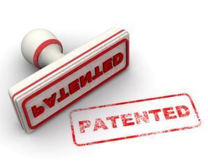 Patented (Запатентовано). Печать и оттиск