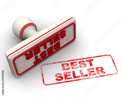 Best seller (продаваемый лучше всех). Печать и оттиск