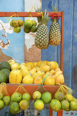 Brazilian Farmers Market Tropical Fruits