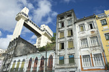 Salvador Brazil City Skyline Crumbling Infrastructure