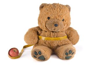 Teddy Bear on a diet