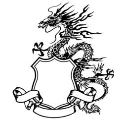 龍のエンブレム