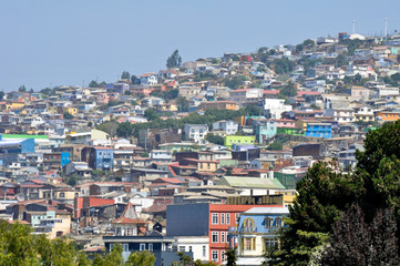 Valparaiso from Concepcion hill (Chile)