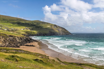 Strand und Wellen am  Slea Head