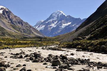 Mount Cook national park, (New Zealand)