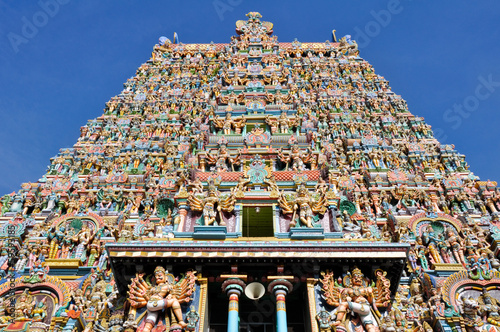 The Meenakshi Temple, Madurai (India)