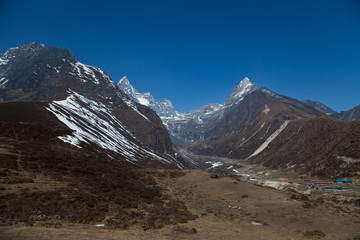 Trail to Everest base camp