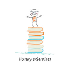 Library of scientists is on the books