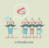 orthodontist says with patients about their teeth