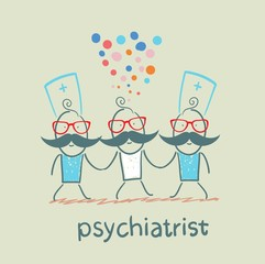 Psychiatrists go to the patient, which is crazy