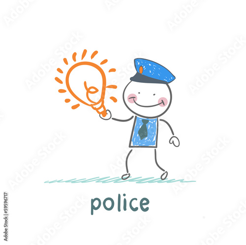 Police keeps the idea of