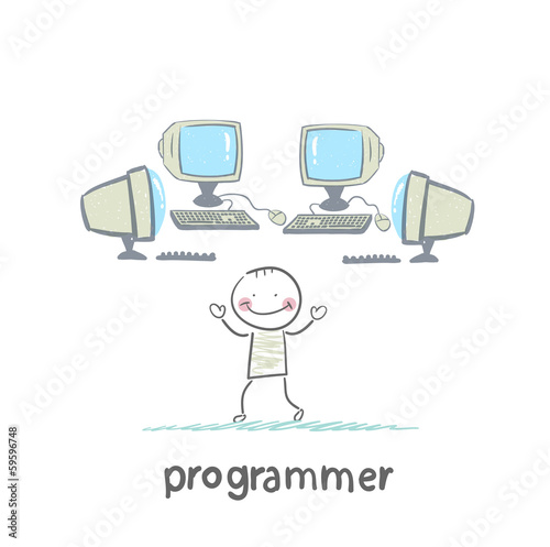 programmer worth around computers